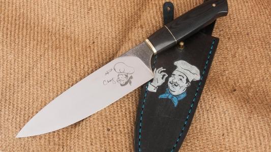 Галерея кухонные ножи