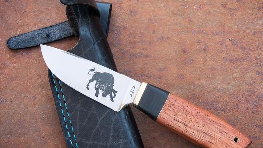 нож *Черный як*