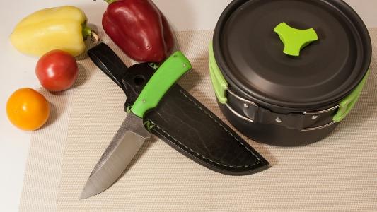 Нож * зеленый полоз*