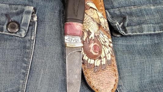 нож * Полярный охотник*