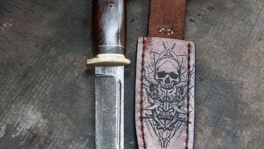 нож *Полевой  охотничий*