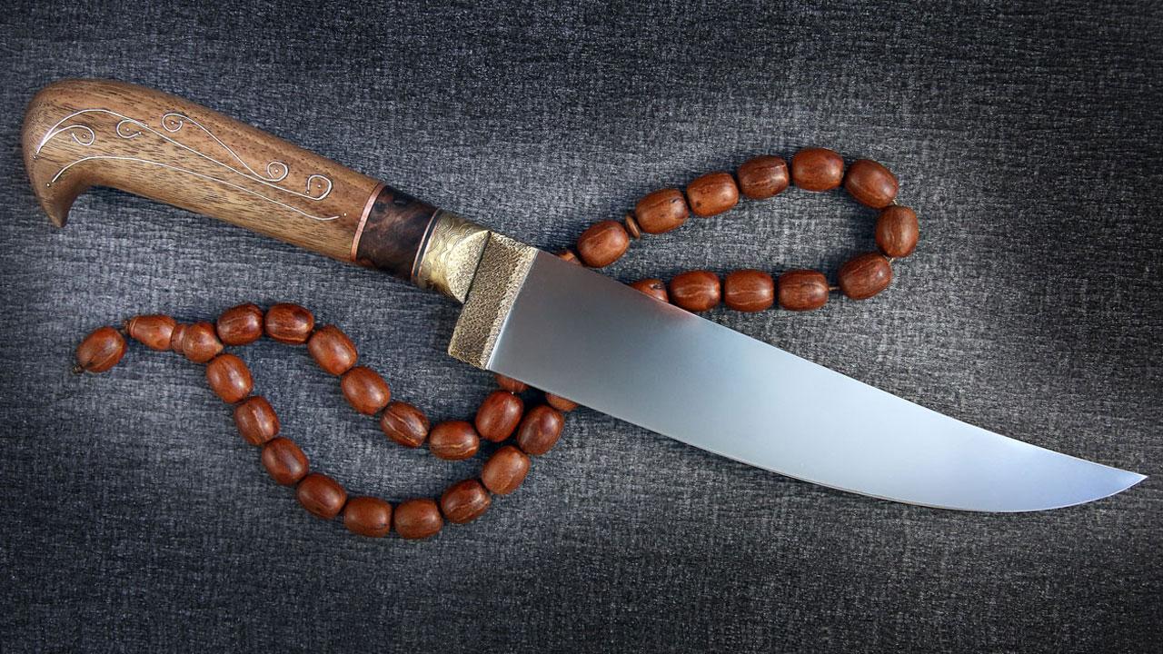 Как сделать ножа пчак 150